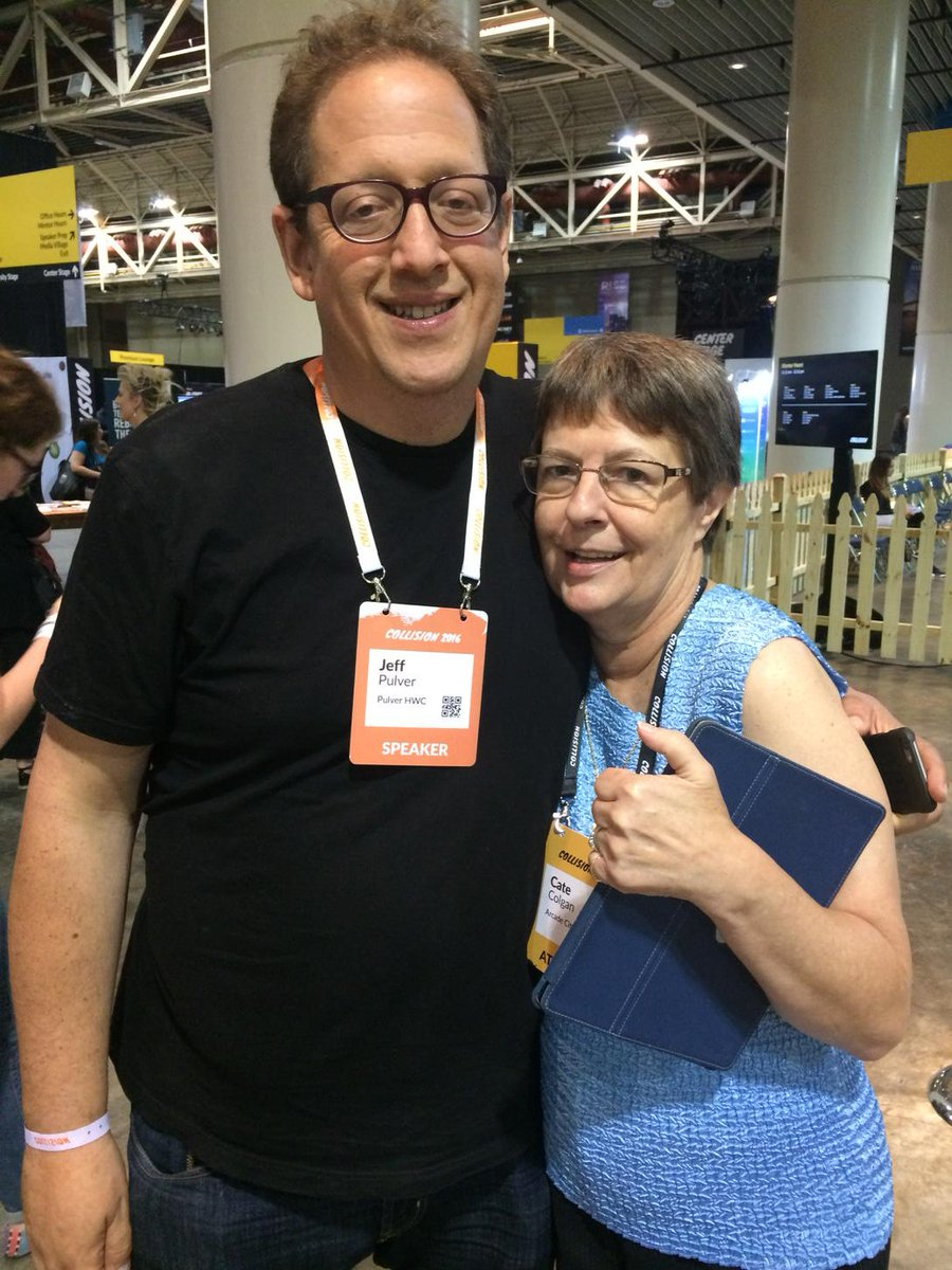 Reuniting with an amazing man/communicator/friend @jeffpulver #CollisionConf https://t.co/ZekQkpa5LF