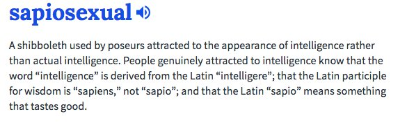 Sapiosexual definition deutsch