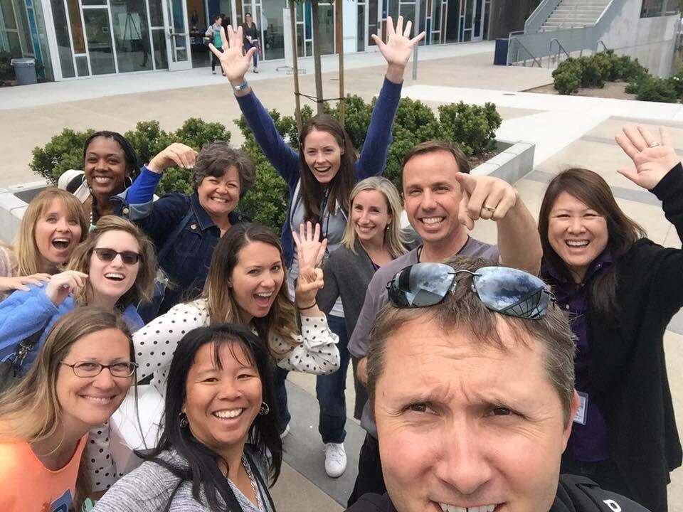 Such an amazing group of Learning Experience Designers @Design39Campus in @powayusd - rockin' FutureNOW! #edchatSD https://t.co/Ue8UmqnBKv
