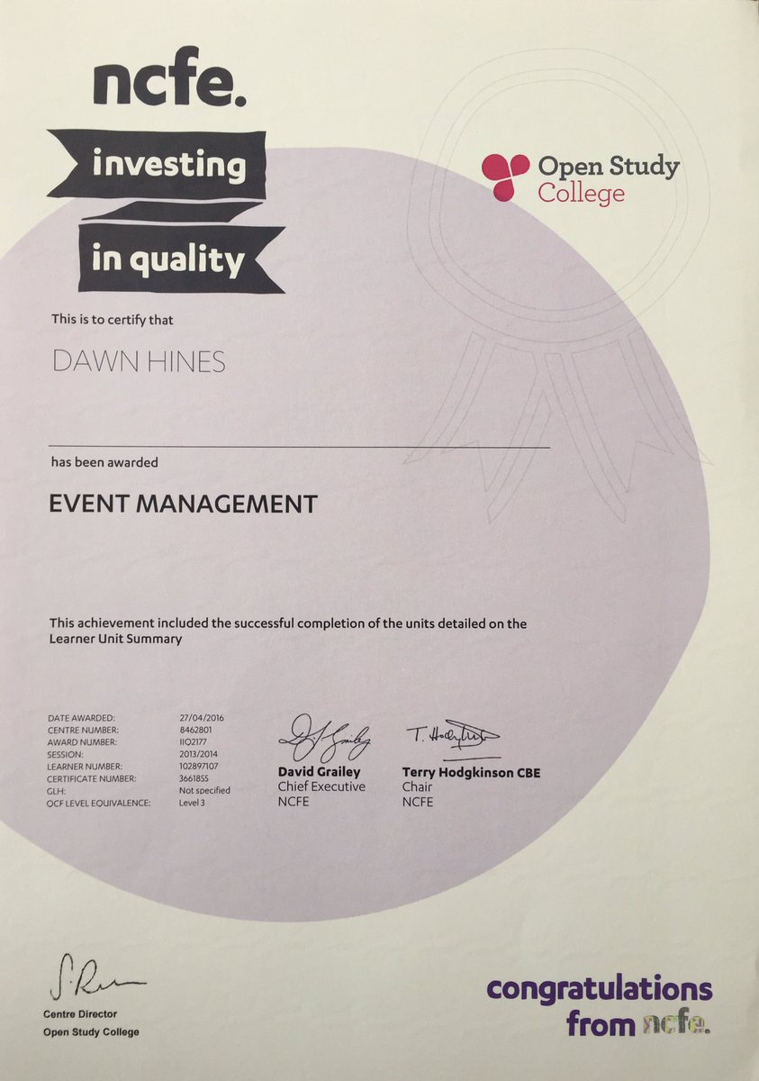 Dawwwwnie on twitter finally got my certificate dawwwwnie on twitter finally got my certificate eventmanagement eventprof events future talent invest leicester eventplanning xflitez Images