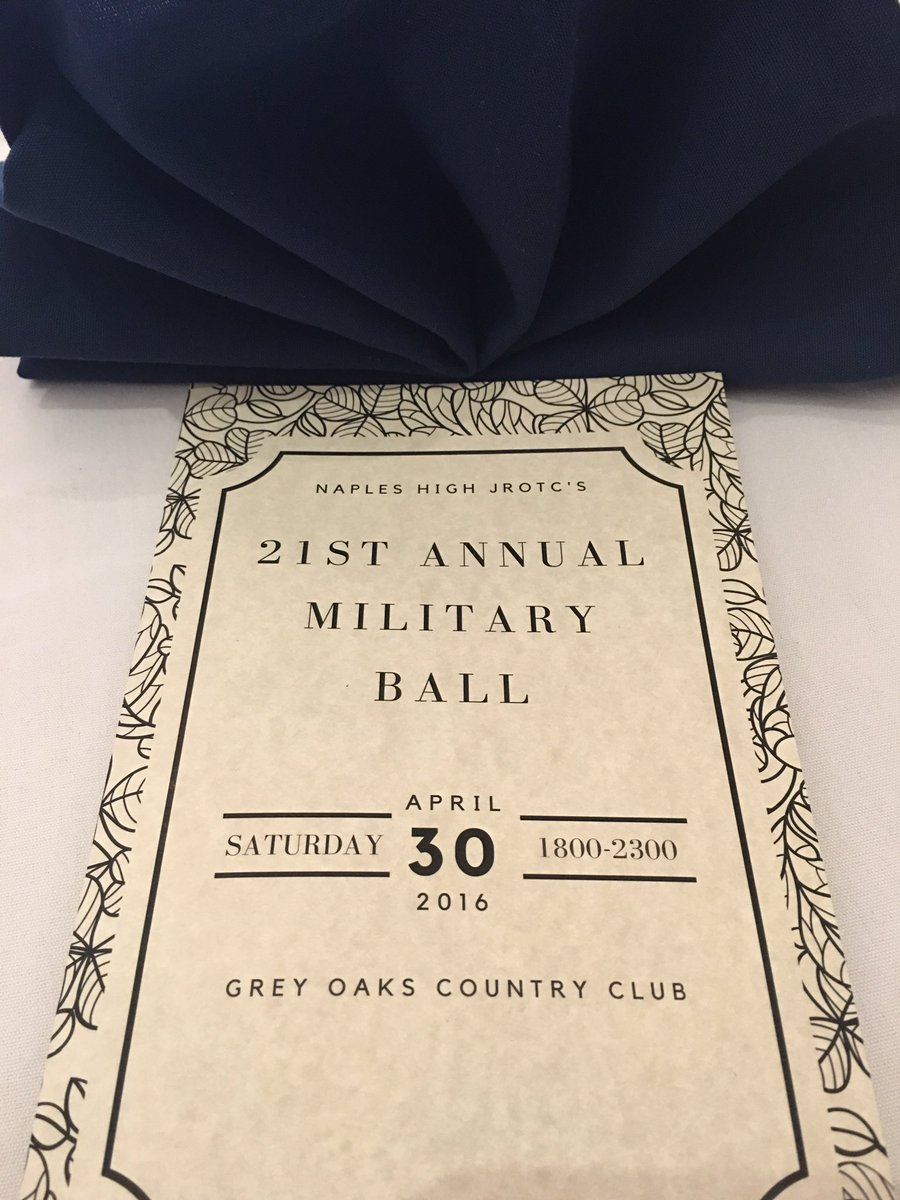 Naples High School on Twitter The NHS JROTC Military Ball is on