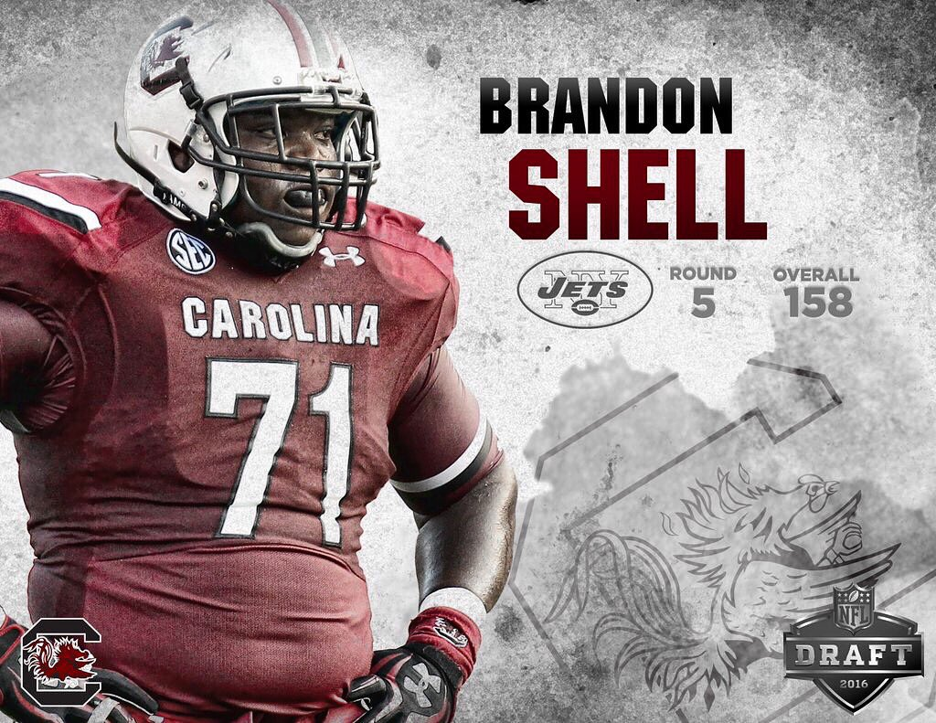 Brandon Shell NFL Jersey