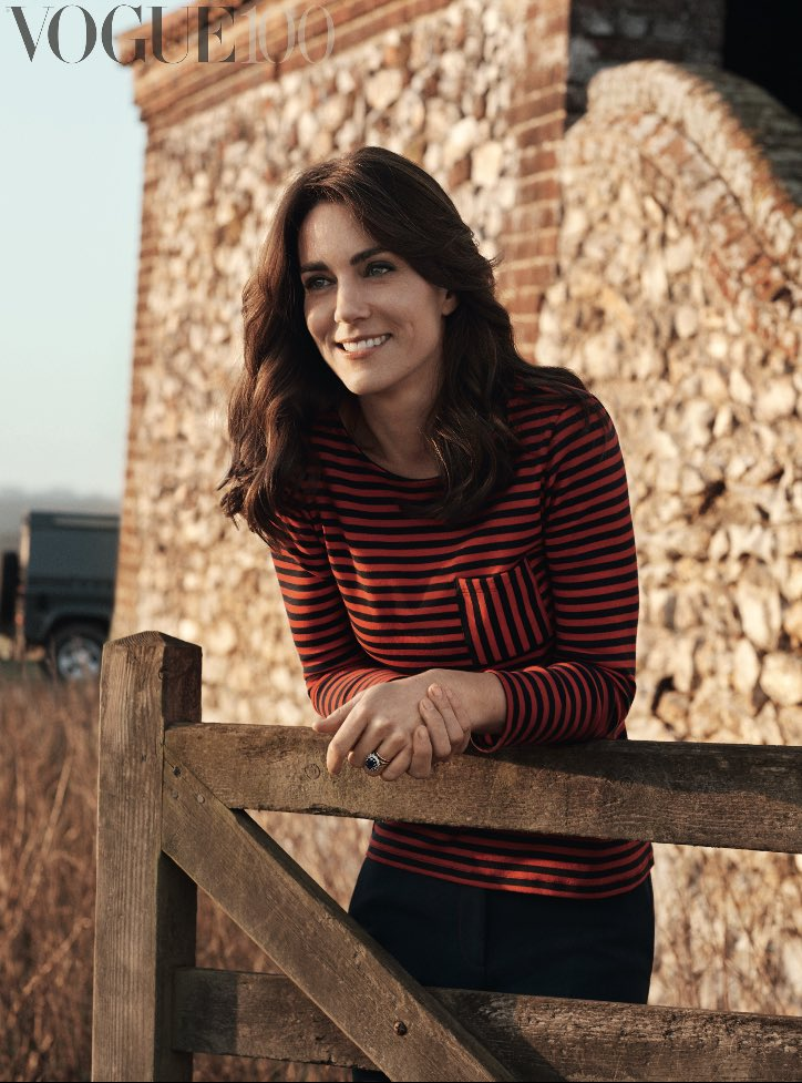 Kate Middleton Poses for Vogue UK in First-Ever Fashion Shoot