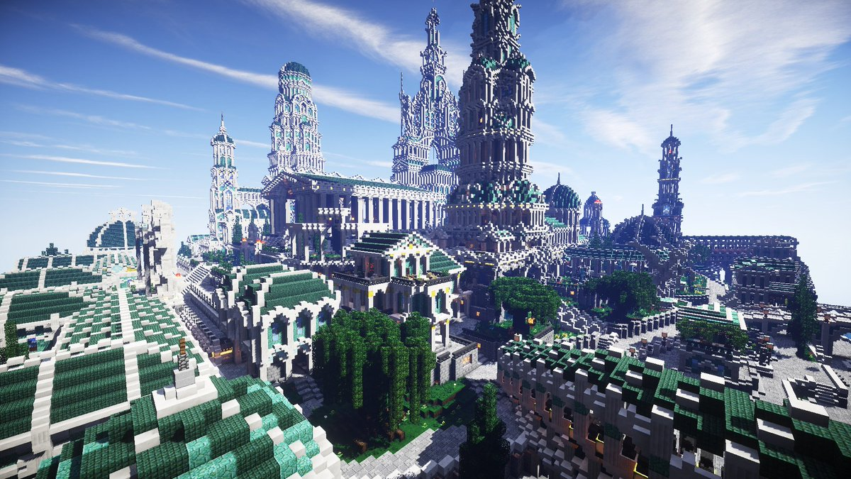 jerenvids on twitter atlantis in minecraft by roi louis see