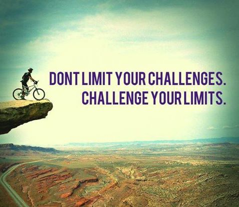 via @Powordful: #growthmindset #MindsetPlay Don't limit your challenges; challenge your limits!  https://t.co/Tu3jl65IsS