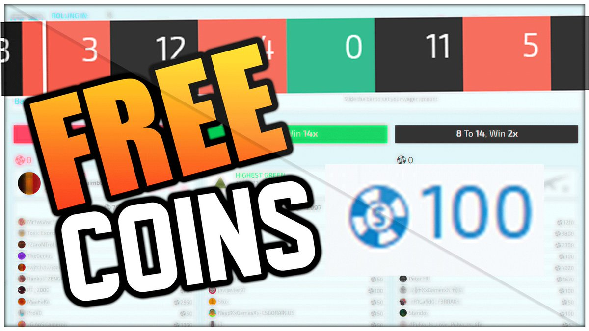 quick timing on twitter how to earn free coins on csgo strong