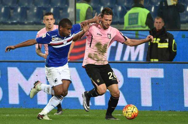 Serie A TIM: Palermo-Sampdoria Streaming Diretta TV Rojadirecta Mediaset Sky gratis