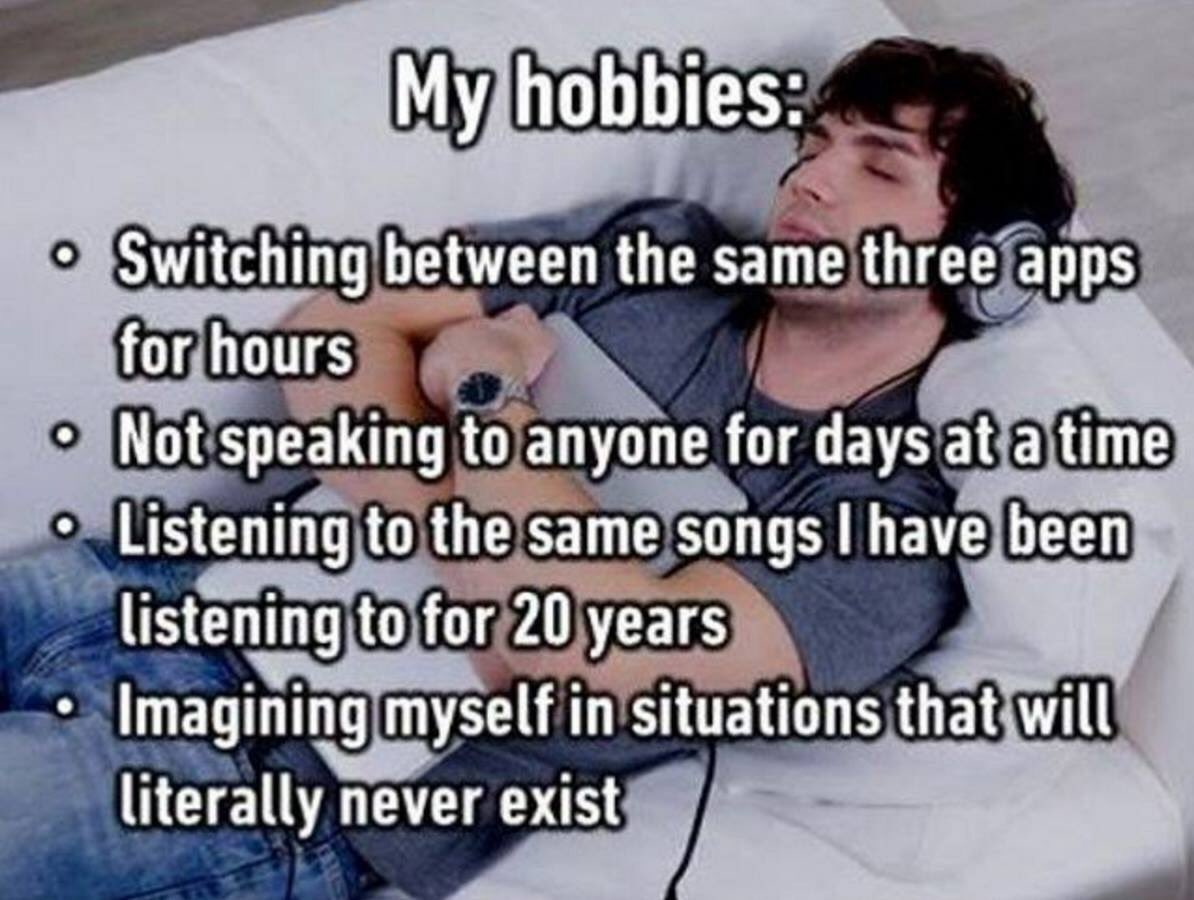 It's good to have hobbies (via @imgur) https://t.co/3vDITDaRXT