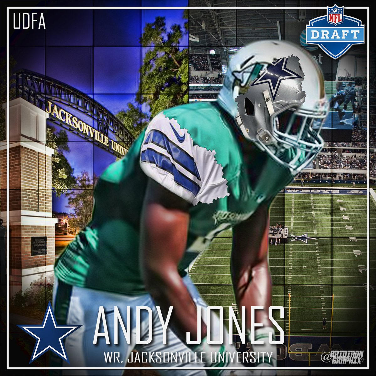 Dallas Cowboys Andy Jones WOMEN Jerseys