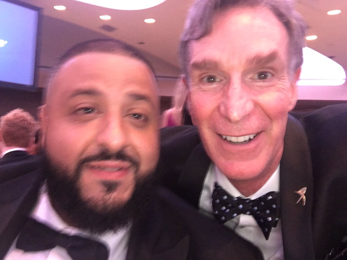 'They' don't want you to be concerned about climate change, but @djkhaled & I want you to be. Major