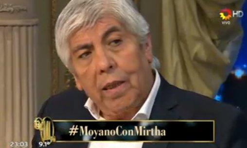 """Moyano: """"Me han propuesto ser presidente de la AFA"""""""