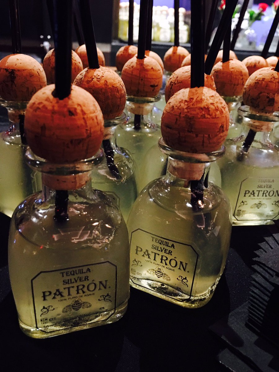 Mini @Patron Margaritas for our #VegasUncorkd Tequila Dinner @TheForumShops @CaesarsPalace https://t.co/EZrzdkEeMr