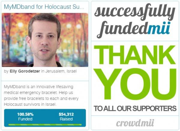 How we helped @MyMDband, #Israel #startup, bring #medical bracelets to #Holocaust survisors https://t.co/JwPhwvxVKJ https://t.co/PDPbS0sCvs