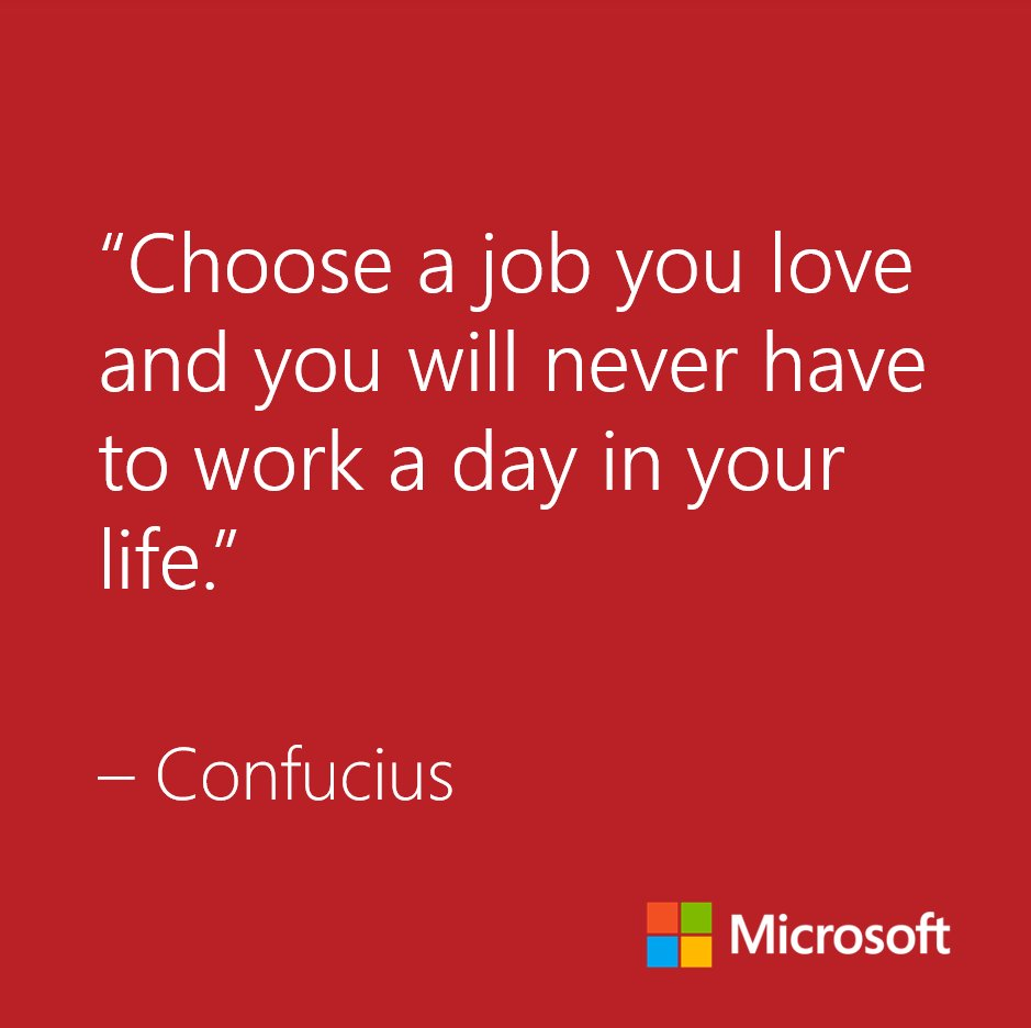 What is the best job you've ever had?