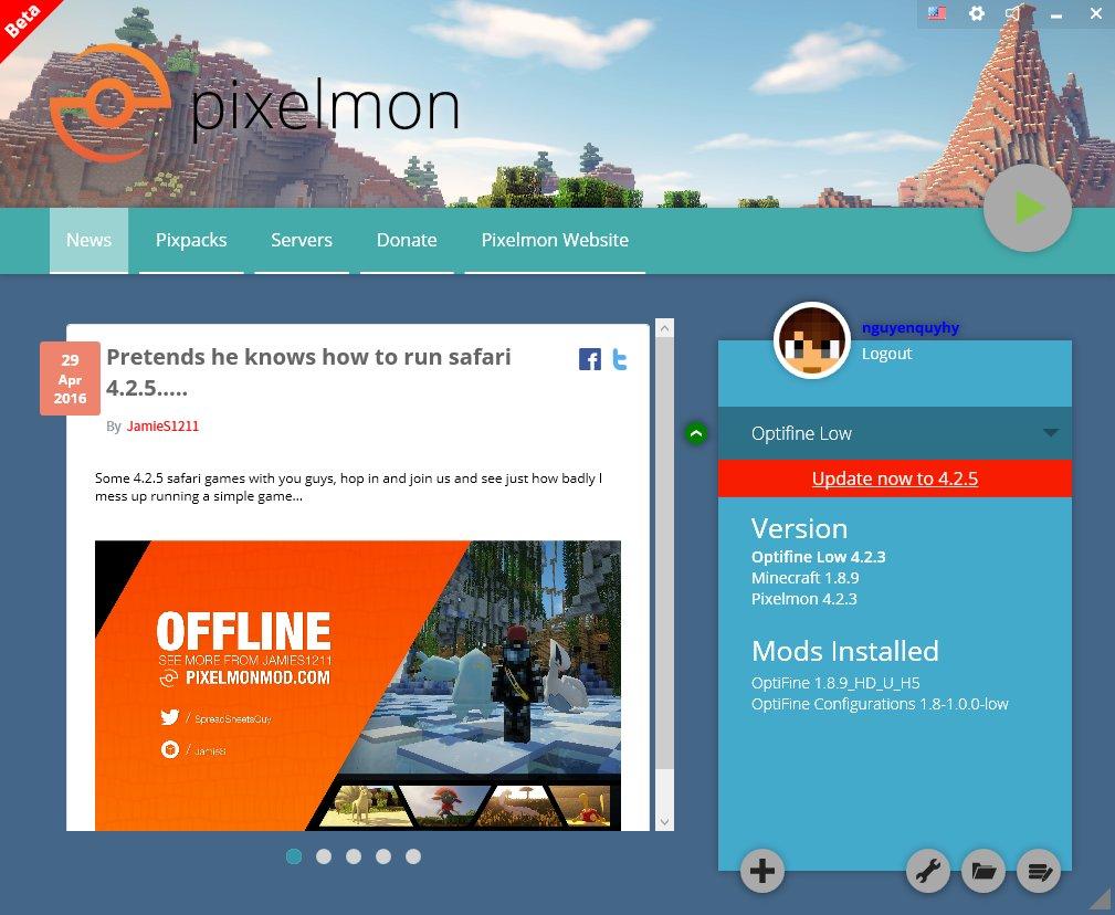 Pixelmon Launcher