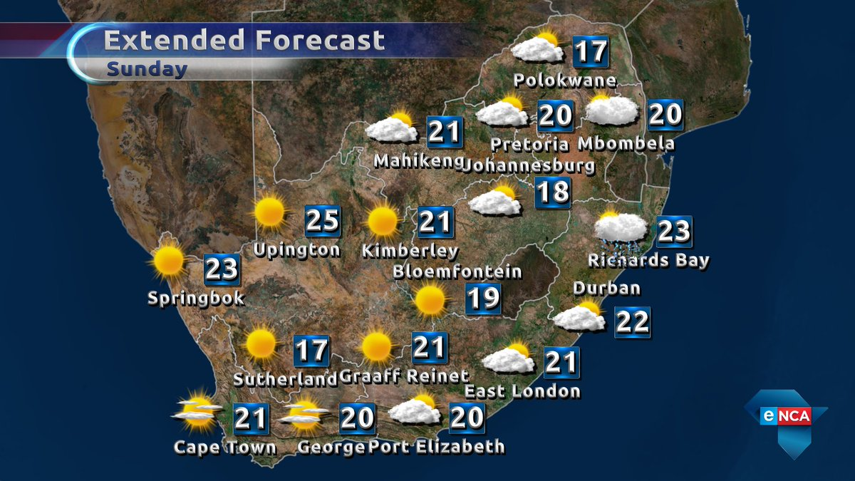 Encaweather on twitter much cooler today across south africa here encaweather on twitter much cooler today across south africa here is your weather forecast enca enewsdirect gumiabroncs Choice Image