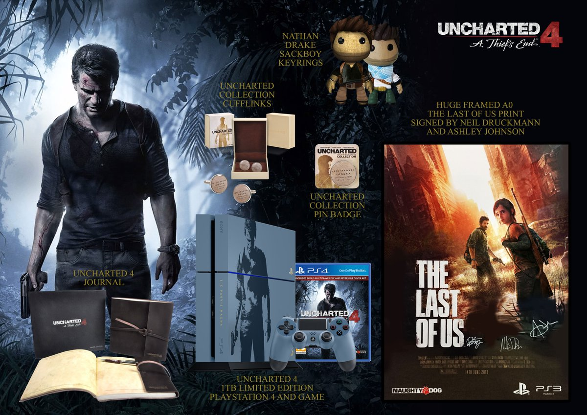 Follow and RT for a chance to win this epic #Uncharted4 bundle. T&C's here https://t.co/xoDpaA88Un UK 18+ https://t.co/rp7RbSWBRt