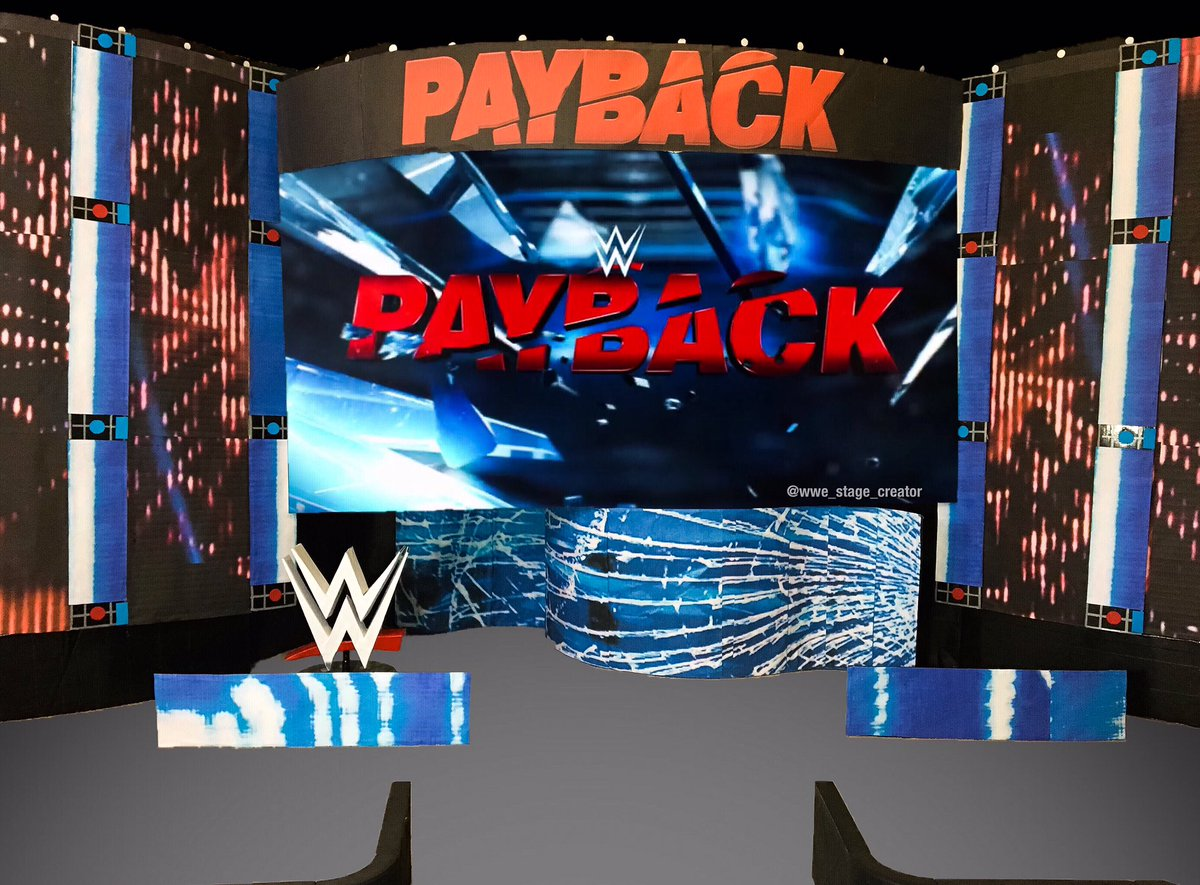 wwe stage creator on twitter quotwwe payback wrestling