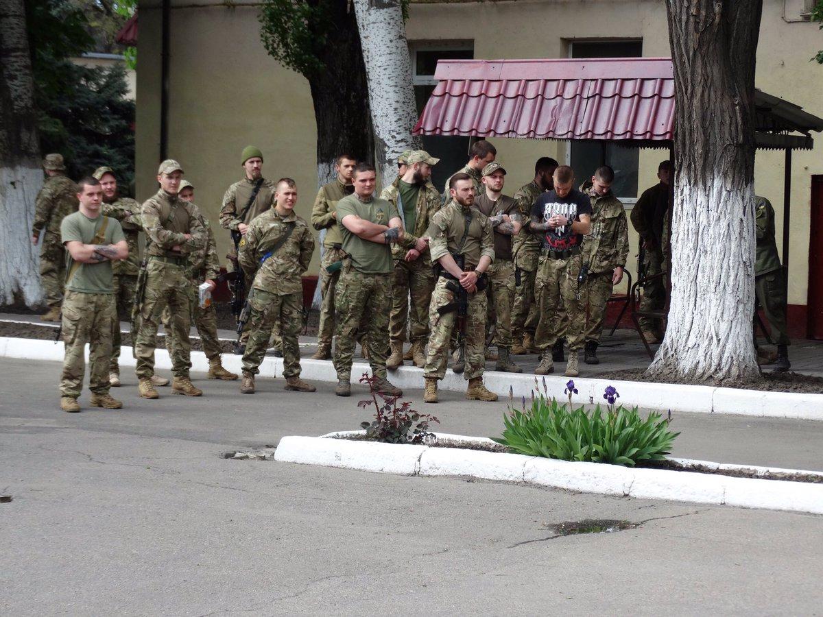 30 участников первомайской демонстрации в Киеве выступили против российского империализма и олигархического реванша - Цензор.НЕТ 8960