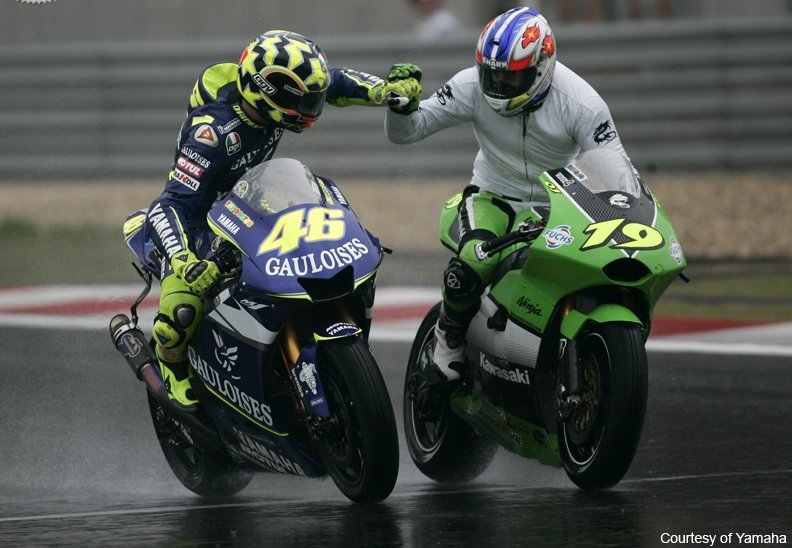 Motogp Fan Zone On Twitter Onthisday 2005 At Shanghai Olivier Jacque On Kawasaki Ninja Zx Rr Took His Final Gp Podium With A 2nd Place Finish