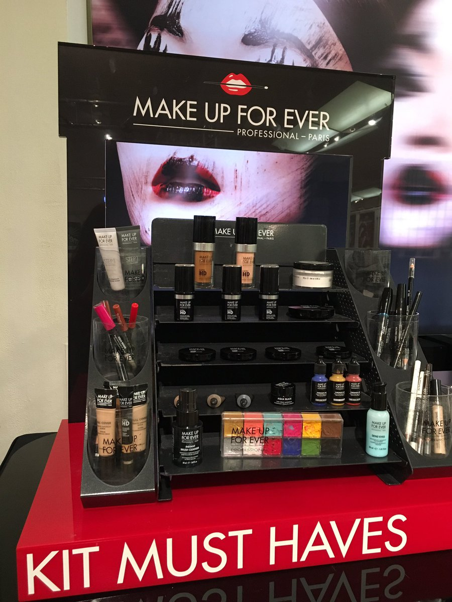Stop By Our Makeupforever Booth At