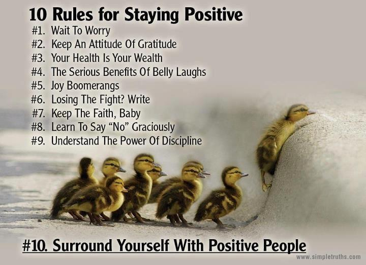 Ben Kubassek On Twitter Surround Yourself With Positive People Custom Positive People Quotes