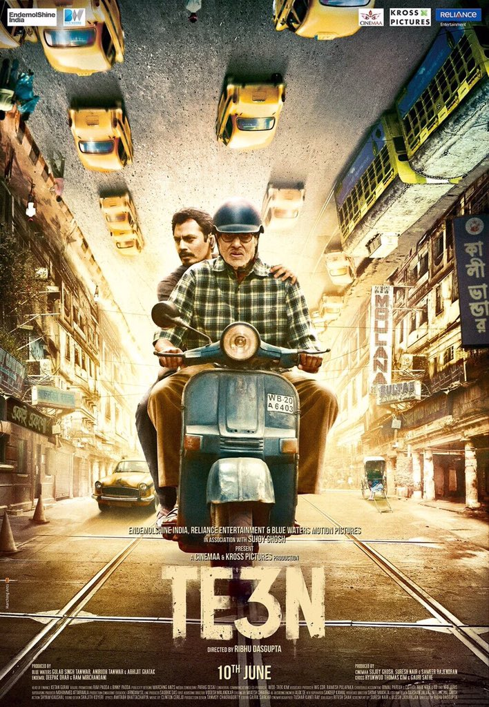TE3N 2016 Hindi 1CD Desi Scr x264 AAC – Masti 700 Mb