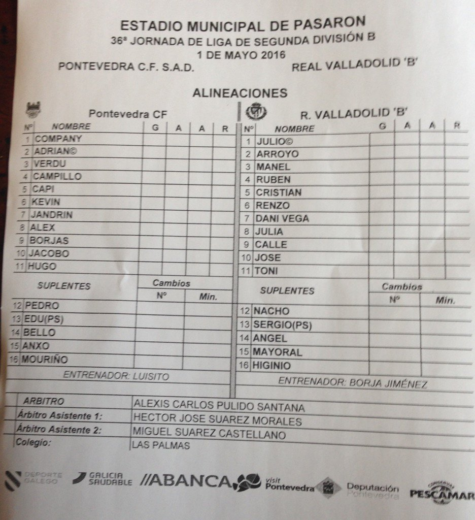 Real Valladolid B - Temporada 2015/16 - 2ª División B Grupo I - Página 34 ChYMQO7WkAA93uF