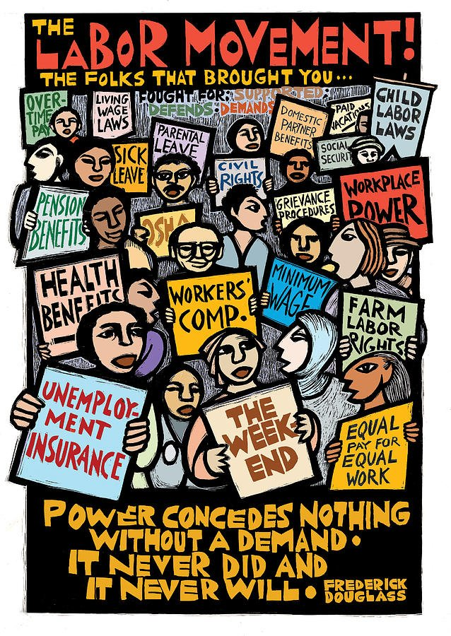 TODAY is #MayDay, International Workers' Day! #OnMayDay, let's end hate and racism! https://t.co/DquRCG8cMr https://t.co/VTBYPnt2w5
