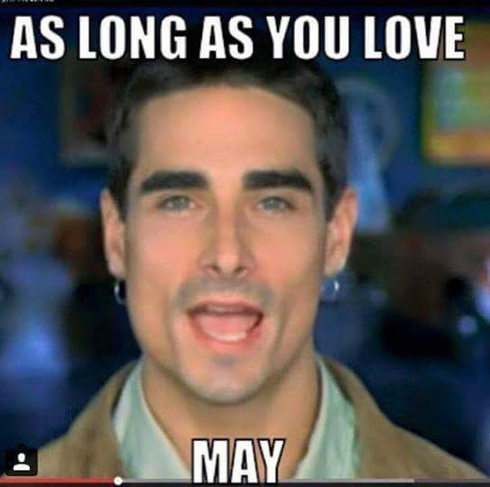 as long as you love may meme