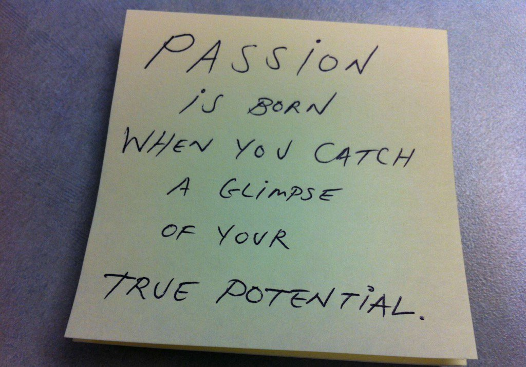 Passion is born when you catch a glimpse of your true potential. #quote #ThinkBIGSundayWithMarsha https://t.co/p4mAaGpu9n