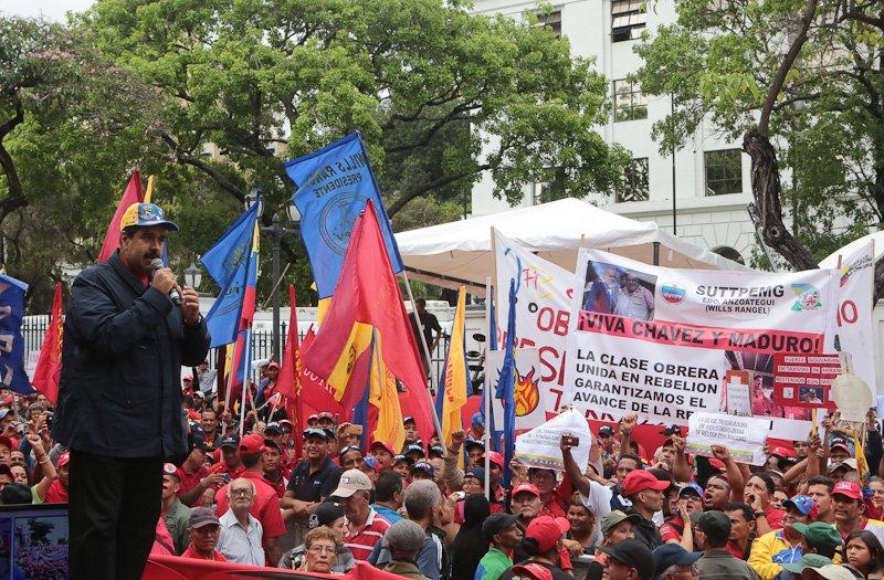 Presidente Maduro: Mientras más guerra económica más defiendo al trabajador