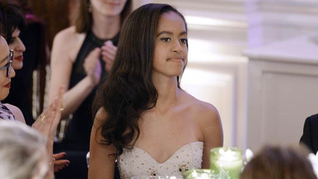 Malia Obama taking a year off before attending Harvard in 2017