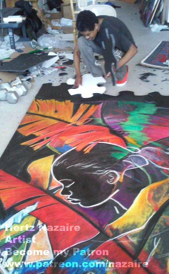 Hertz Nazaire is creating ART | Patreon