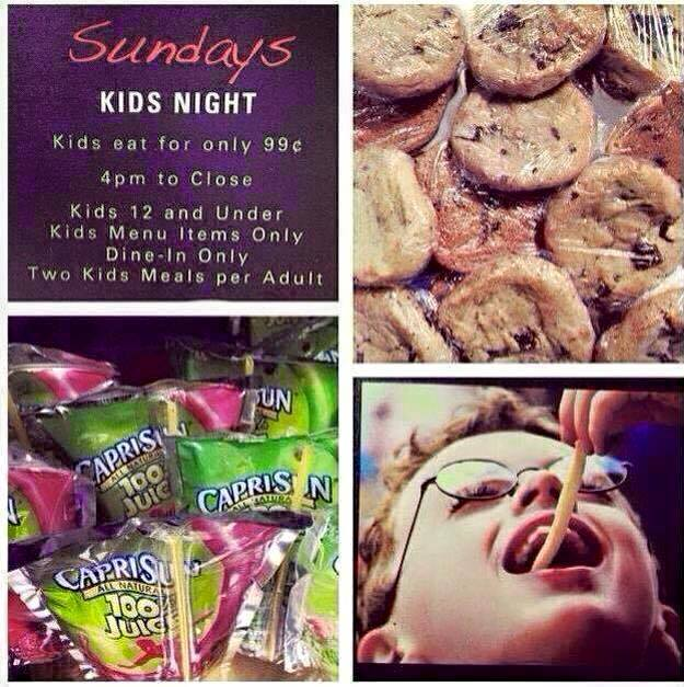 Humdingers Memphis On Twitter Its Kids Night At Join Us From 4 Close For A 99 Cent Meal W Purchase Of An Adult
