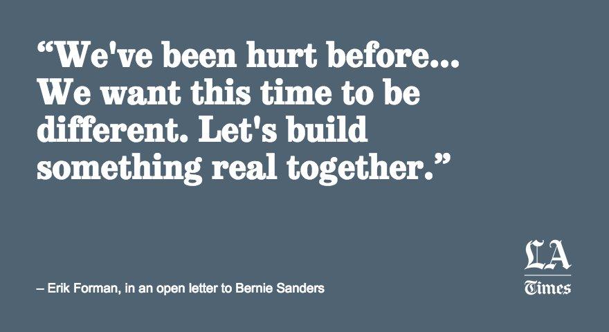 Bernie Sanders supporters are strategizing to build a lasting progressive movement