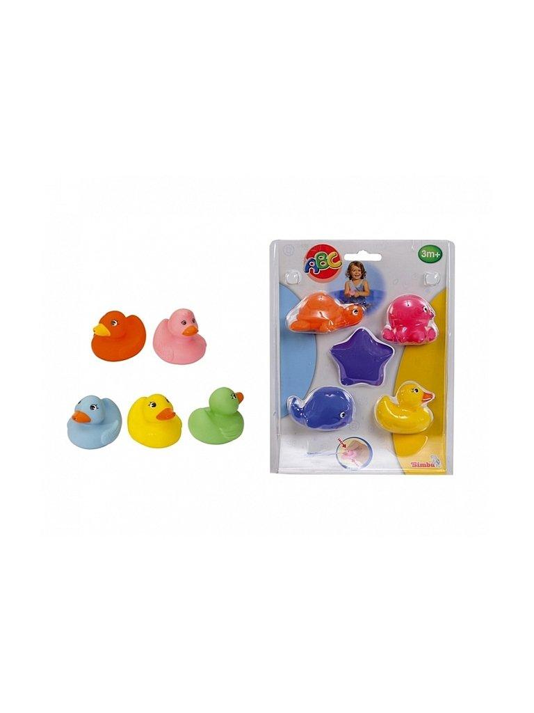 набор игрушек для ванны играем вместе лунтик мила и кузя 3 шт