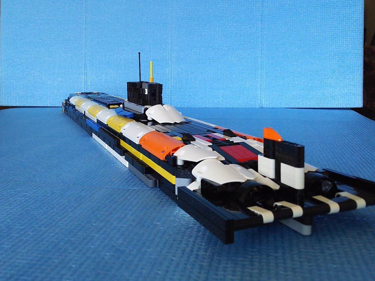Картинки подводной лодки из лего