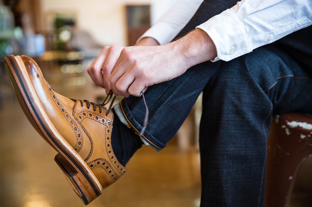 The first Brogues kept Irish farmers' feet dry in dewy fields. How to wear them now: https://t.co/2DPoTnOvyk https://t.co/6zM6MJIuK0