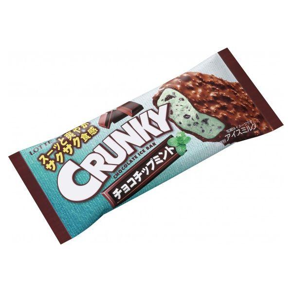 チョコミント派歓喜 「クランキーアイスバー チョコチップミント」 https://t.co/TibAvBMJqd https://t.co/NzxXywz7fO