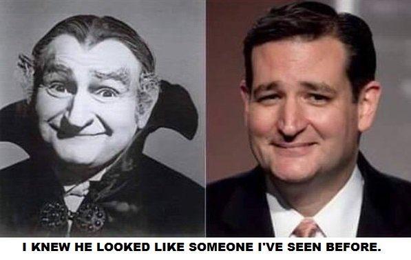 Ted cruz grandpa munster