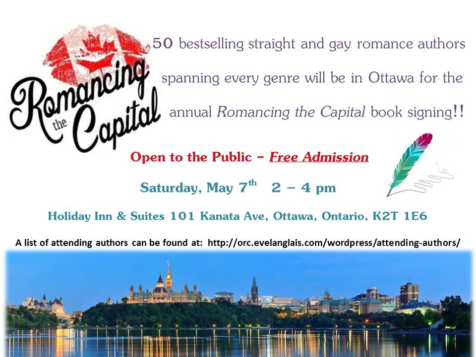 #Ottawa #rtc2016 #booksigning #romance #freeadmission #somethingtodosaturdaymay7 #Ottawaevents #lgbtromance #FunTime https://t.co/eWuFPszojk