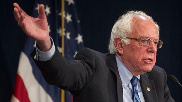 Bernie Sanders says Hillary Clinton faces