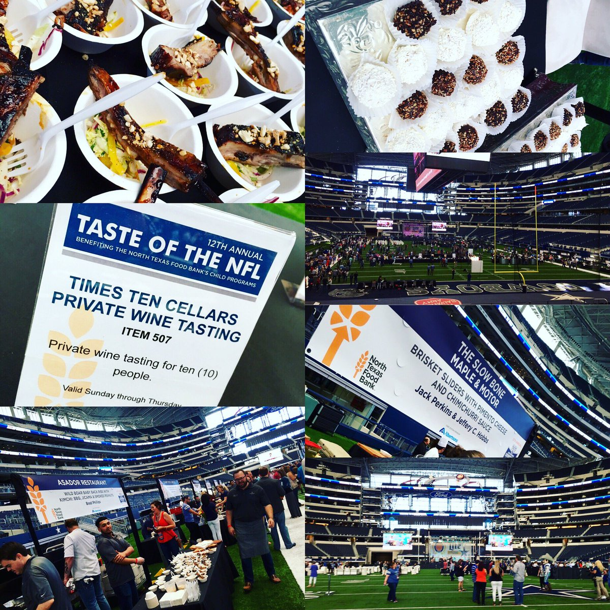 .@ntfb's #TNFLdallas is our kind of party! 🏈#PartyWithAPurpose #FightHunger https://t.co/VPUL9aqw1t