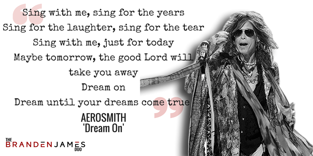 Eminem aerosmith dream on lyrics