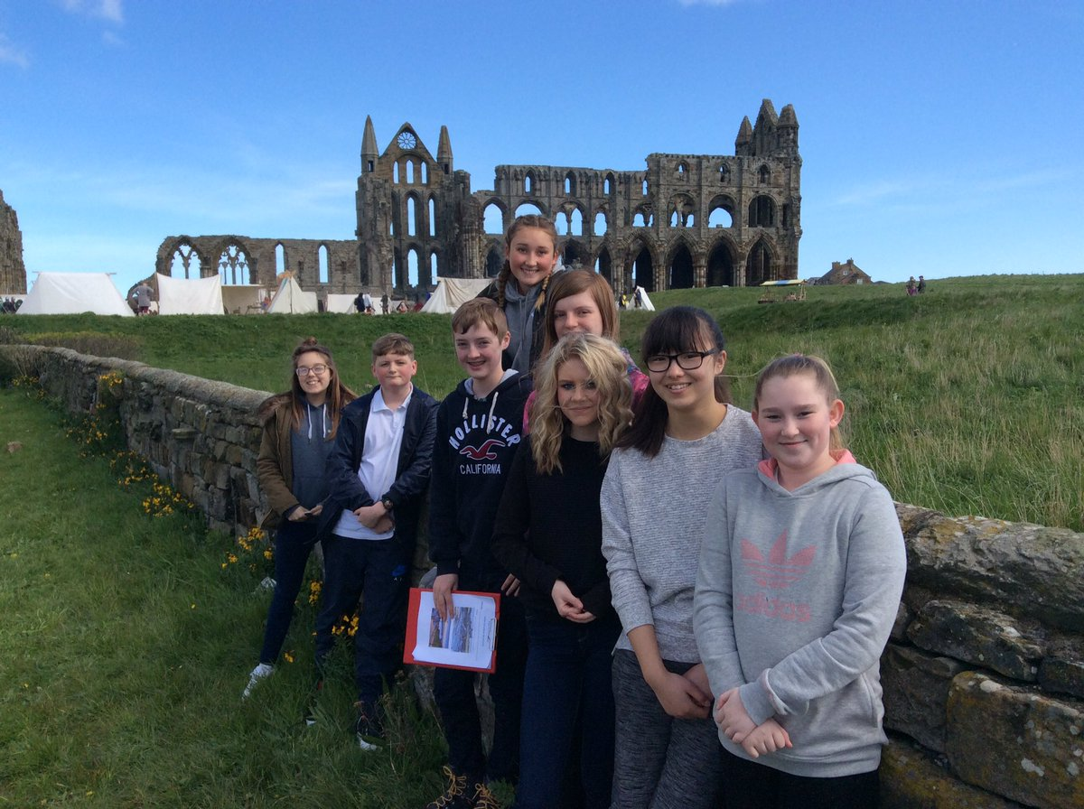 Whitby Geography Retreat for Year 9 #views @SmeatonAcademy