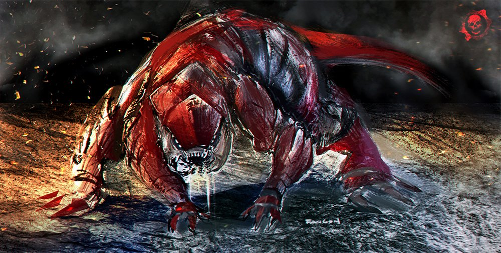 Just played a bit with that Pouncer doodle. See you in October, @GearsofWar! https://t.co/Rt5ttxjCj5