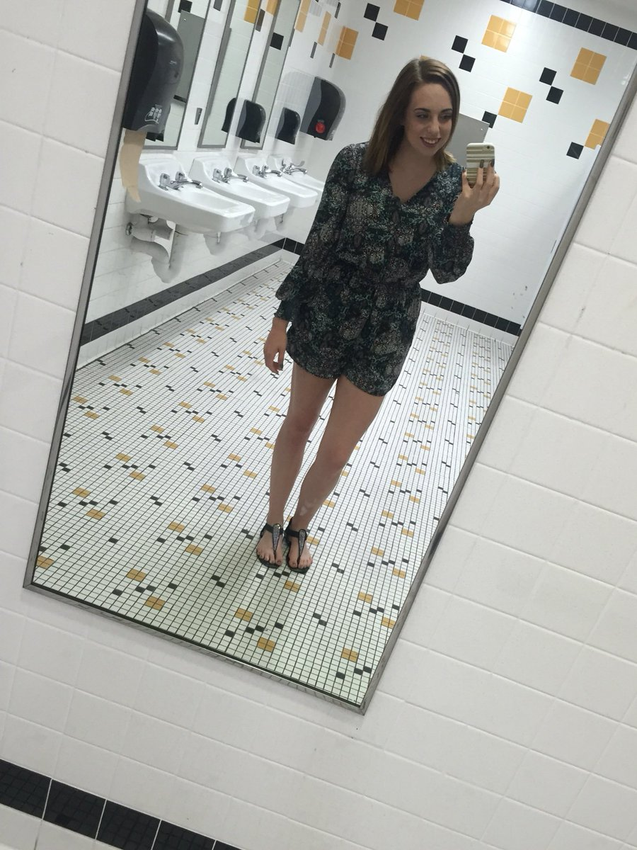 "School Bathroom Selfies brittany dobbs on twitter: ""because why wouldn't you take bathroom"