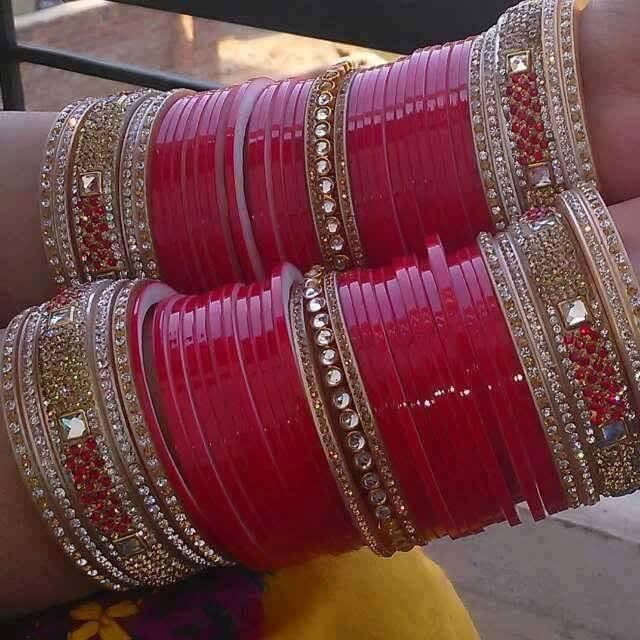 indian bridal chura on designer wedding chura we make