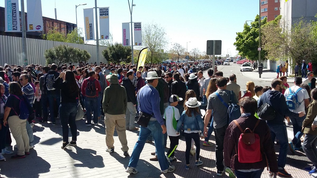 Мадрид. Мугуруса остановилась на Бегу (+видео)